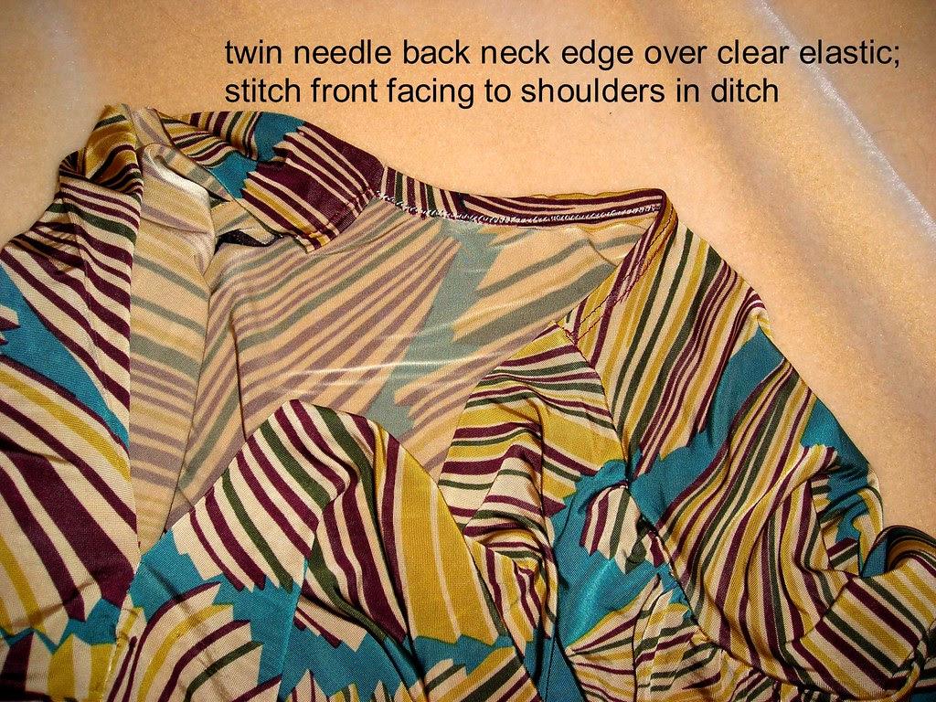 Neckline Treatment