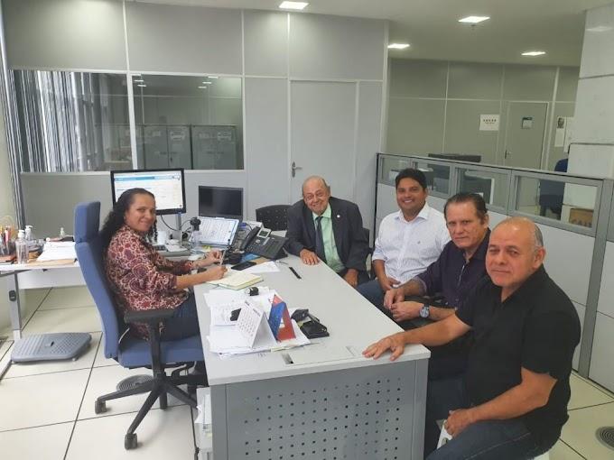 CONQUISTA - Deputado Zé Gentil pleiteia na Caixa liberação de recursos para saneamento em Caxias
