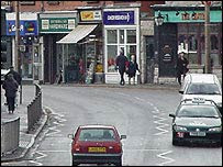 Colwyn Bay town centre