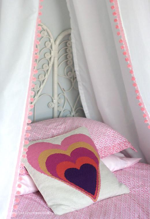 D.I.Y. Bed Tent Canopy | Erika Brechtel | Brand Stylist