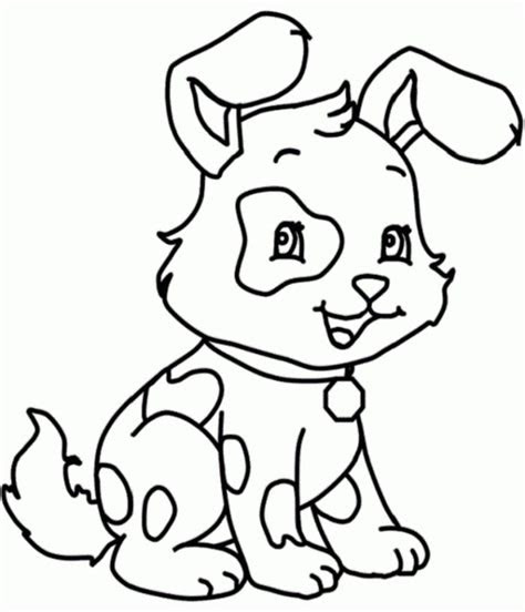 funny  dog coloring pages  kids animal coloring