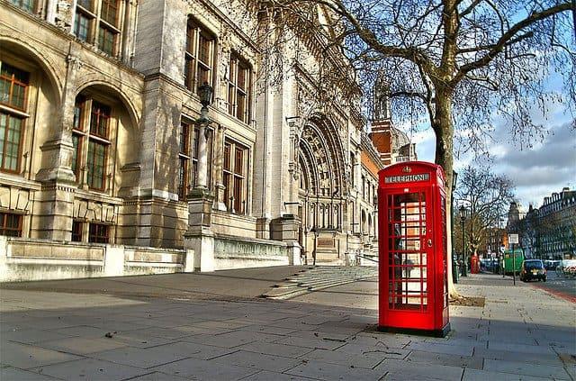 Kensington - distritos de Londres, em GlobalGrasshopper.com