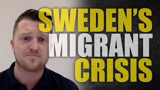 "Tommy Robinson: Sweden self-destructs for ""diversity"" - YouTube"