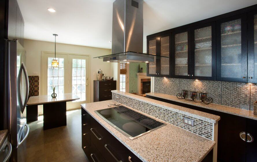 Kitchen Island Design In Two Levels Signature Kitchens Additions Baths