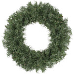 """18"""" Canadian Pine Artificial Christmas Wreath - Unlit by Christmas Central"""