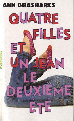 Couverture Quatre filles et un jean, tome 2 : Le deuxième été