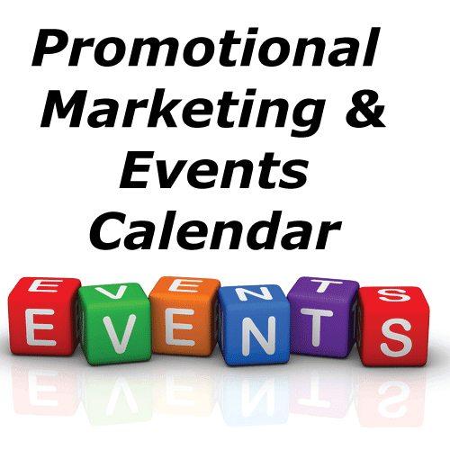 Promotional Marketing Events Calendar | Marketing Resource Blog
