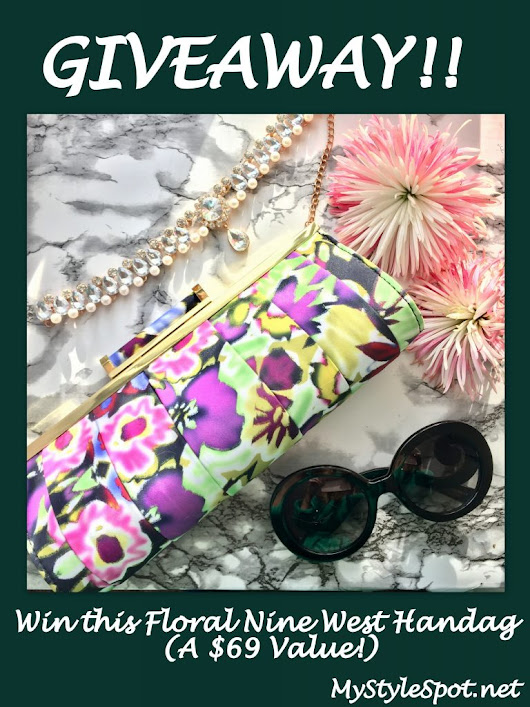 GIVEAWAY: Win a Nine West Floral Handbag Clutch - MyStyleSpot
