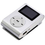 Mini Tune Buddy Jog And Walk With MP3 Player And FM Radio - COLOR: Silver