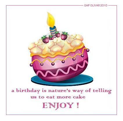 Birthday Cake Quotes For Instagram