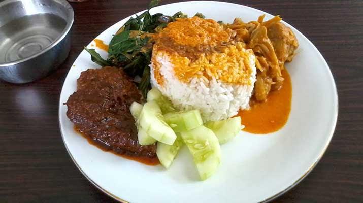 Ide Top 26 Gambar Nasi Padang Komplit
