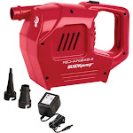 Coleman QuickPump Rechargeable Pump, Red