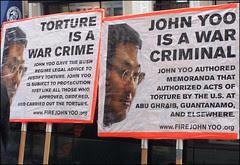 John Yoo, war criminal