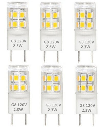 Best to Buy® T4 G8 Bi-pin LED Halogen Replacement Bulb ...