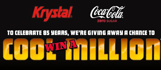 Krystal's 85th Birthday with Coke Zero Sugar Sweepstakes - 2017 Developing Career