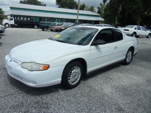 Used 2000 Chevrolet Monte Carlo for Sale in Deland FL 32720 Richard Bell Auto Sales & Powersports