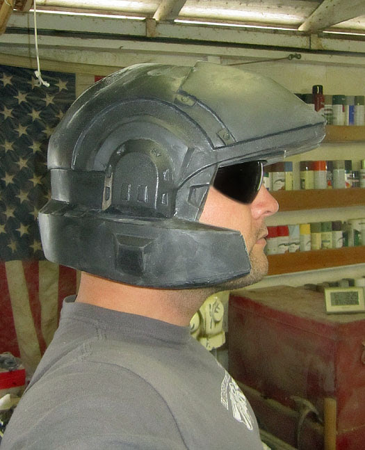 Marine Helmet Test Fit 2