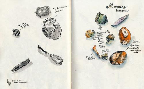 September 2012: Treasures by apple-pine
