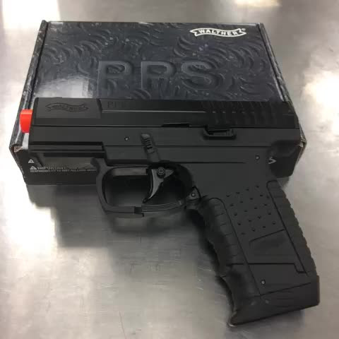 Our Walther PPS co2 blowback!! Retails around $75!! #airsoft #eliteforce #eliteforceairsoft #walther #pps #whatsinyourmag