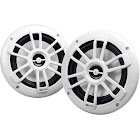 """MB Quart NF1-116 Nautic Series 6-1/2"""" Shallow-Mount Marine Speakers with White Grilles"""