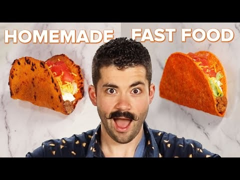 Homemade Vs. Fast Food: Doritos Locos Tacos • Tasty