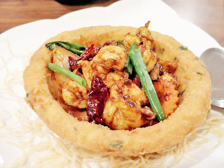 Volcano Beancurd with Kong Poh Chicken