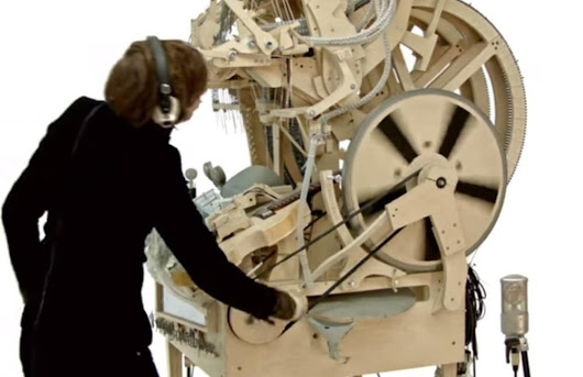 Martin Molin – Wintergatan Marble Machine