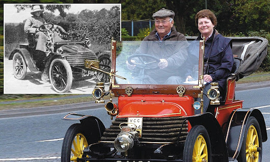 They don't make them like that any more! The 107-year-old car that's NEVER broken down