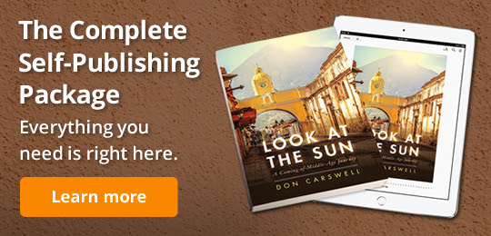 The Complete Self-Publishing Package Everything you need is right here.