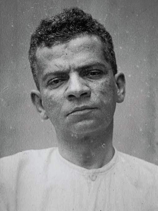 Lima Barreto em sua última passagem pelo hospital (1919)