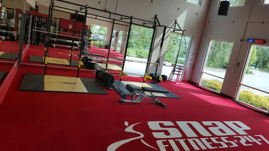 Snap Fitness Chilliwack Installs CrossFit Athletic Turf - Synthetic Turf