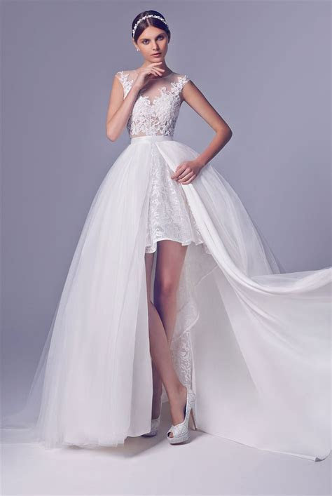 Best 20  Short Wedding Gowns ideas on Pinterest   Short