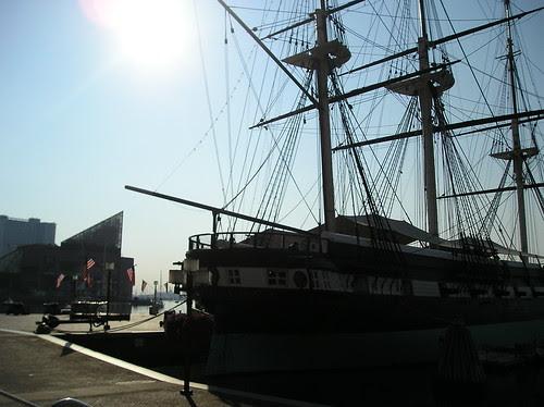 Ship and Aquarium