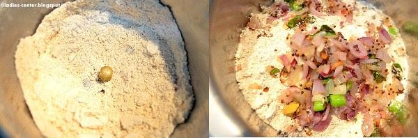 oats dosa step2