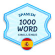 I just signed up for the 1000 Word Challenge for Spanish on LingQ! What about you?