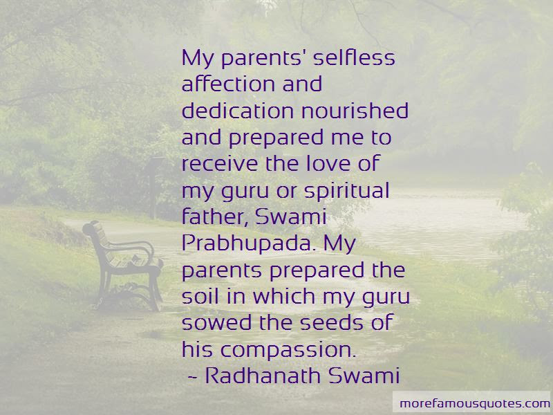 Parents Selfless Love Quotes Top 1 Quotes About Parents Selfless