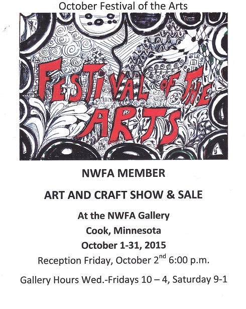 NWFA October Fall Festival of the Arts