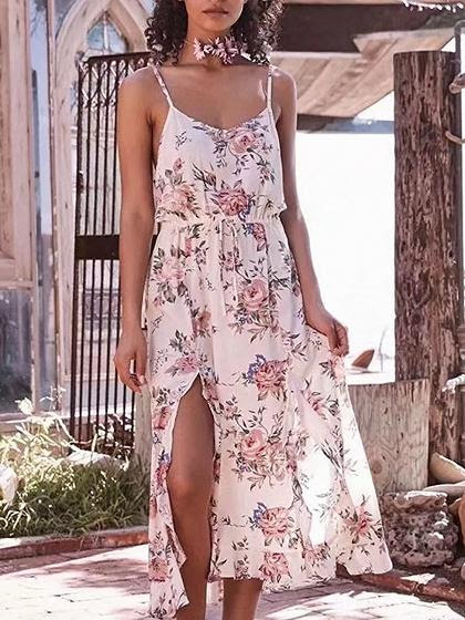Toppers camisole dress cotton midi