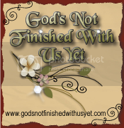 God's Not Finished With Us Yet