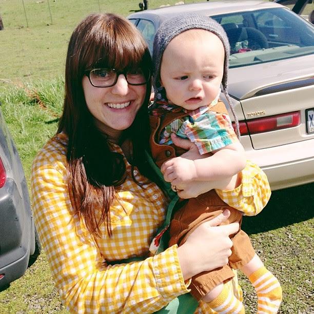 Off to see the baby lambiiiiiiiiiiiies today!