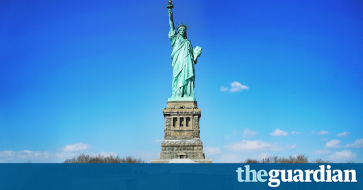 Immigrants want to come to America and not shoot anyone. No wonder Trump has banned them | Rich Hall | Opinion | The Guardian