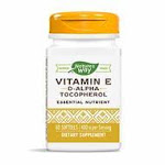 2 Pack Super Saver - Nature's Way - Vitamin E 400 IU 60 Softgel