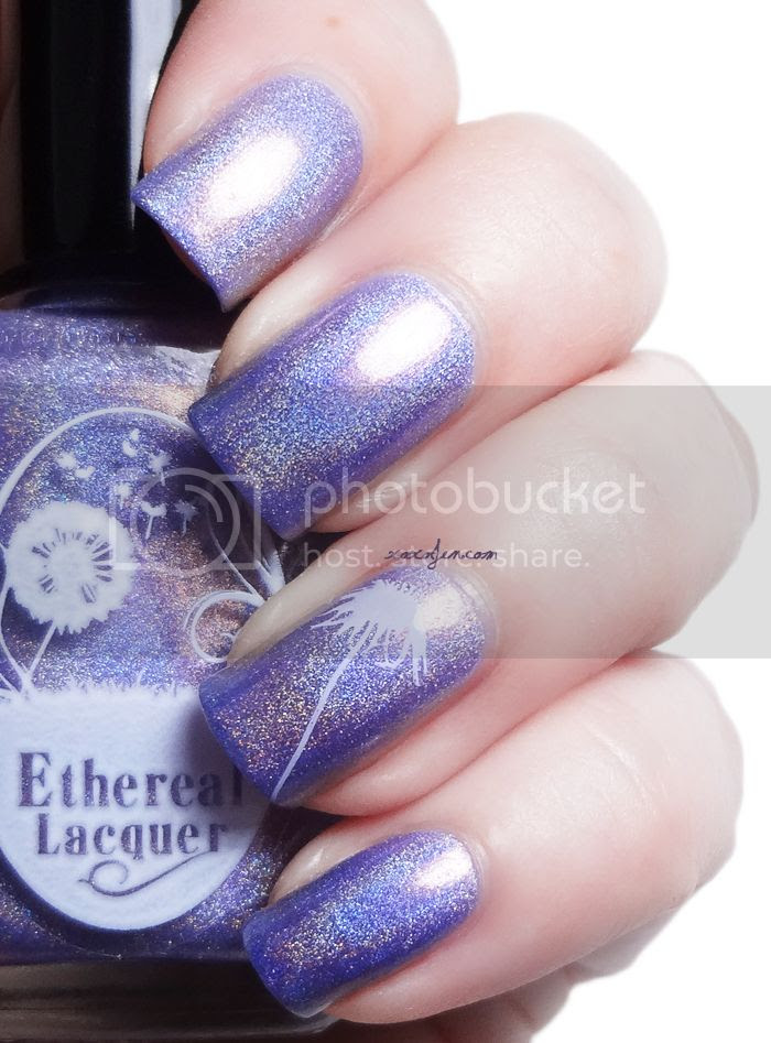 xoxoJen's swatch of Ethereal Lacquer Lilac Haze