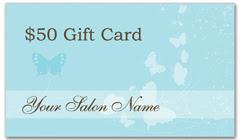 CPS-1018 - salon coupon card