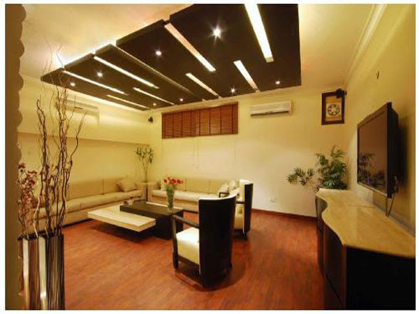 False Ceiling Design In Wooden | Home and Garden Show