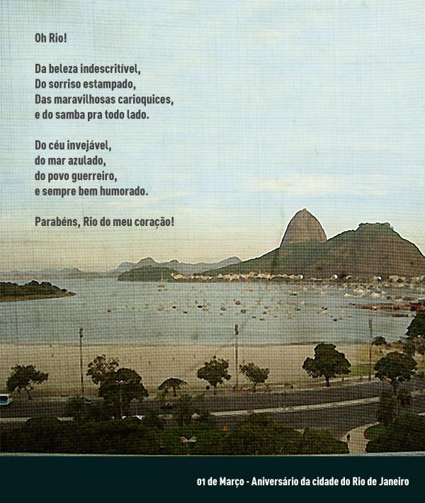 Parabéns Rio De Janeiro Em Dmazb Blog Aqui Nada é Impossível