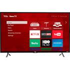 """TCL S Series 43S405 - 43"""" LED Smart TV - 4K UltraHD - Black"""