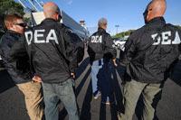 Agentes de la DEA.  Foto: AP