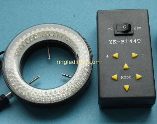 Ring led light YK-B144T microscope led light segment quadrant control illuminator kit
