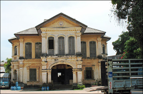 Old Mansion on Dibuk Road, Phuket Town